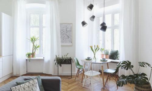 CID Clara  Intérieur Design Aménagement et décoration  Appartement dans un esprit pure. Matériaux naturels, douceur par une dominance blanc et de végétation